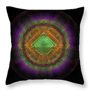 Abstract Fractal Throw Pillow