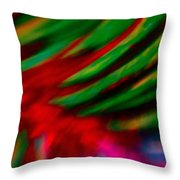 Abstract Frolic Throw Pillow