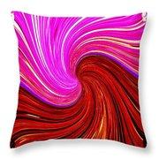 Abstract Fusion 266 Throw Pillow