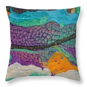 Abstract Garden Of Thoughts Throw Pillow