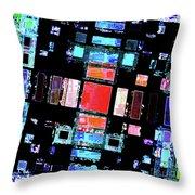 Abstract Geometric Art Throw Pillow