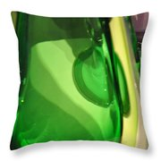 Abstract Glass 1 Throw Pillow