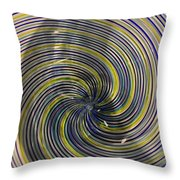 Abstract Glass 6 Throw Pillow