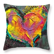 Abstract Heart Series Throw Pillow