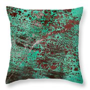 Abstract II Throw Pillow
