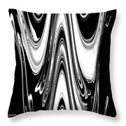 Abstract IIi Death Mask Throw Pillow