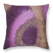 Abstract In Pink Throw Pillow