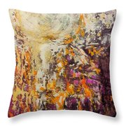 abstract landscape VI Throw Pillow