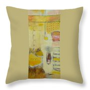 Abstract Life 1 Throw Pillow