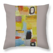 Abstract Life 3 Throw Pillow