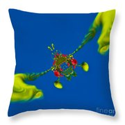 Abstract Lobster 9137205141 Throw Pillow