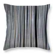 Abstract Lodgepole Pine Throw Pillow
