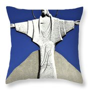 Abstract Lutheran Cross 5 Throw Pillow