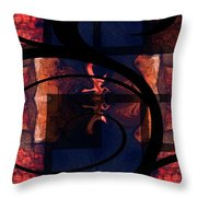 Abstract Me Throw Pillow