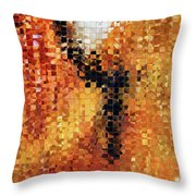 Abstract Modern Art - Pieces 8 - Sharon Cummings Throw Pillow