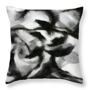 Abstract Monochome 164 Throw Pillow