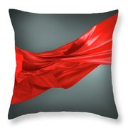 Abstract Motion Cloth Throw Pillow