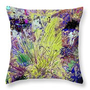 Abstract Musings Throw Pillow