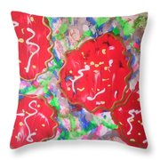 Abstract Nr 49 Throw Pillow
