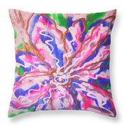 Abstract Nr 51 Throw Pillow