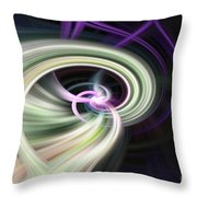 Abstract Number 13 Throw Pillow