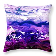 Abstract Ocean Fantasy One Throw Pillow