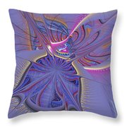 Abstract Of Cells Throw Pillow