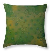 Abstract Oil And Water 10 Throw Pillow