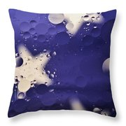 Abstract Oil And Water 2 Throw Pillow