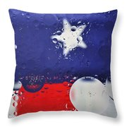 Abstract Stars And Stripes Throw Pillow