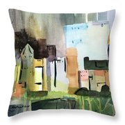 Abstract Opus 5 Throw Pillow