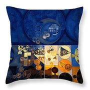 Abstract Painting - Apache Throw Pillow