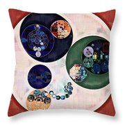 Abstract Painting - Bizarre Throw Pillow