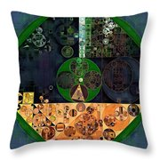 Abstract Painting - Cello Throw Pillow