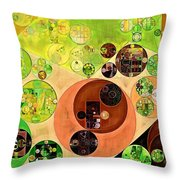 Abstract Painting - Chenin Throw Pillow