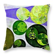 Abstract Painting - June Bud Throw Pillow