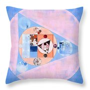 Abstract Painting - Loulou Throw Pillow
