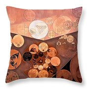 Abstract Painting - Paarl Throw Pillow