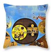 Abstract Painting - Rob Roy Throw Pillow