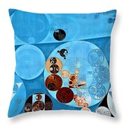 Abstract Painting - Spray Throw Pillow