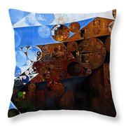 Abstract Painting - Spring 2015 Throw Pillow