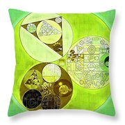 Abstract Painting - Sulu Throw Pillow