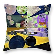 Abstract Painting - Tahuna Sands Throw Pillow