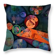 Abstract Painting - Tango Throw Pillow