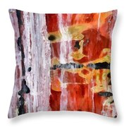 Abstract Painting Untitled #45 Throw Pillow
