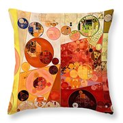 Abstract Painting - West Side Throw Pillow