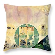 Abstract Painting - Xanadu Throw Pillow