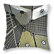 Abstract Paris Throw Pillow