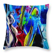 Abstract Perfection Throw Pillow
