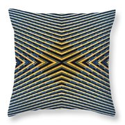Abstract Photomontage Mid Continental Plaza N132p1 Dsc5528 Throw Pillow
